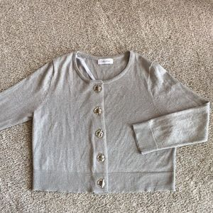 Calvin Klein Silvery Sweater  Size S